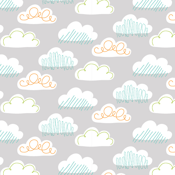 cloud repeat print